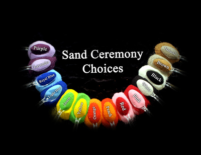 Sand Ceremony color Choices